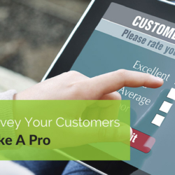 How To Survey Your Customers Like A Pro