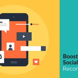 Boost Sales Via Social Media Recommendations