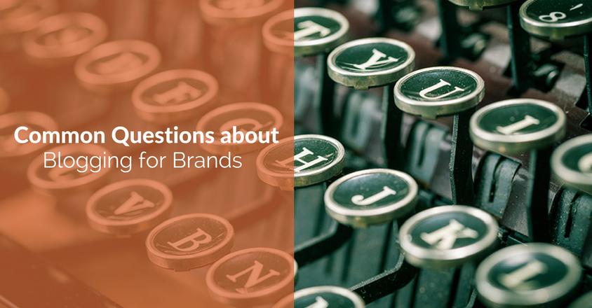 blogging for brands