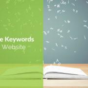 keywords on your website