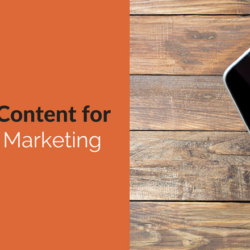 Creating Content for Inbound Marketing