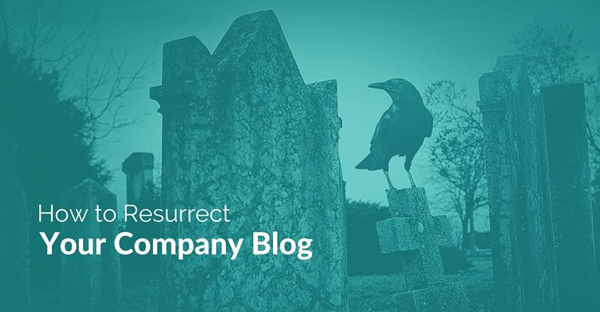 resurrect a blog