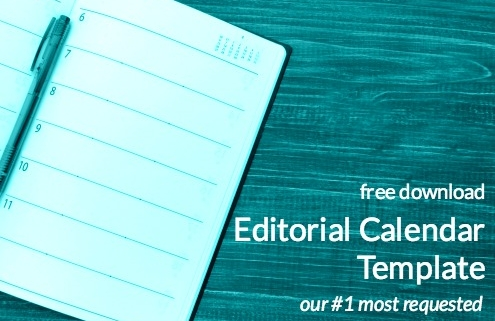 Editorial Calendar Template Free Download