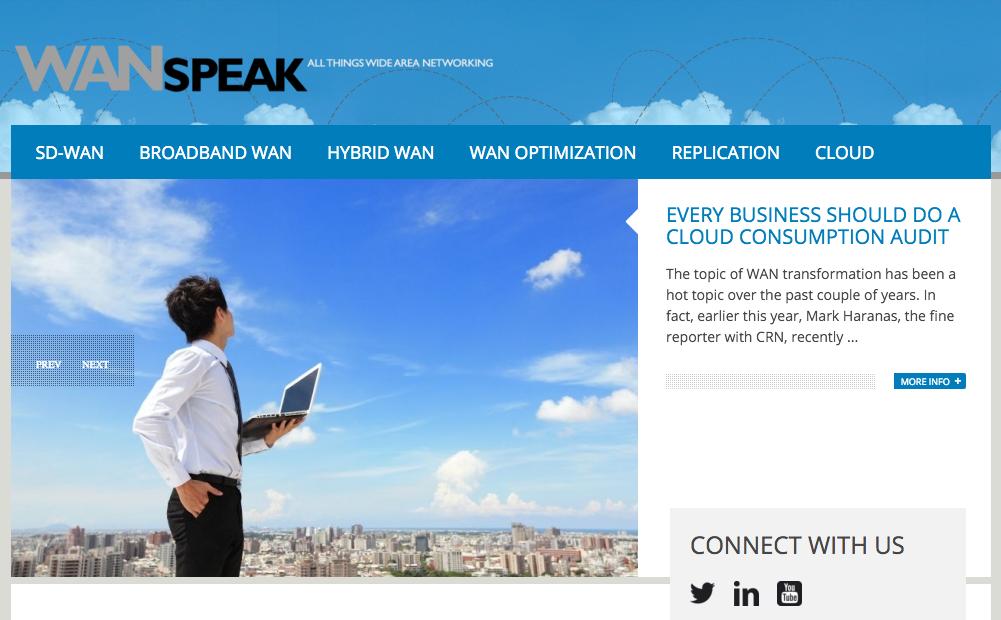 Silver Peak WAN Speak Blog