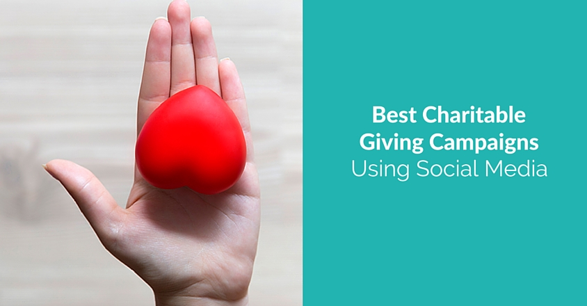 social media charitable giving campaigns