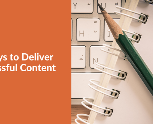 3 Ways to Deliver Successful Content