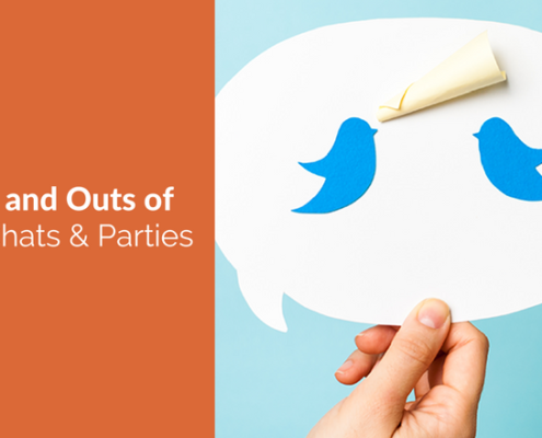 The Ins and Outs of Twitter Chats and Parties
