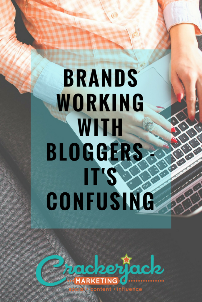 Brands Working With Bloggers - It_s Confusing