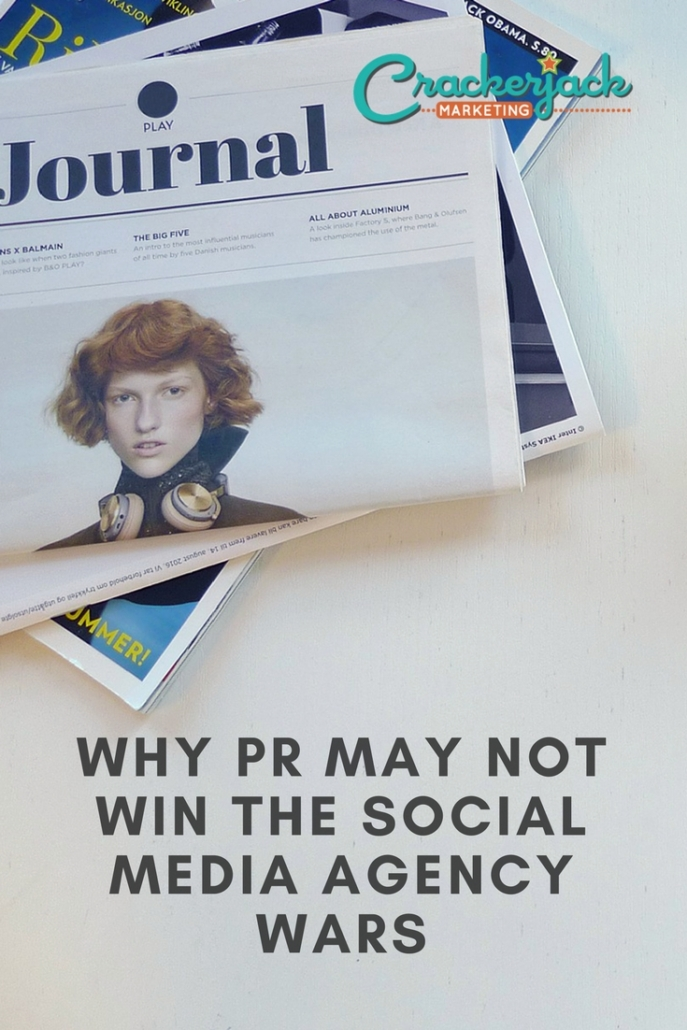 Why PR May Not Win The Social Media Agency Wars