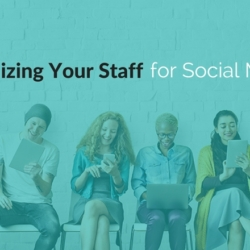 organizing staff for social media