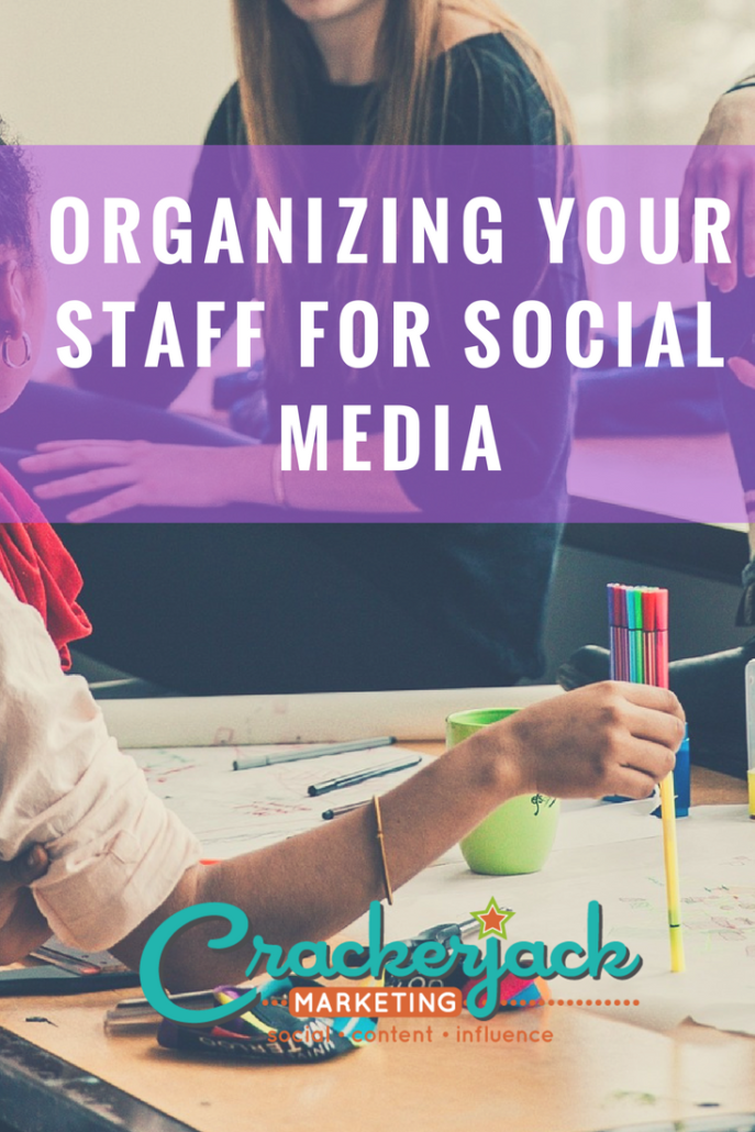 Organizing Your Staff for Social Media