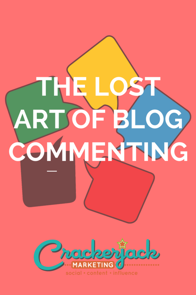 The Lost Art of Blog Commenting
