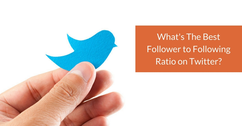 What's The Best Follower to Following Ratio on Twitter