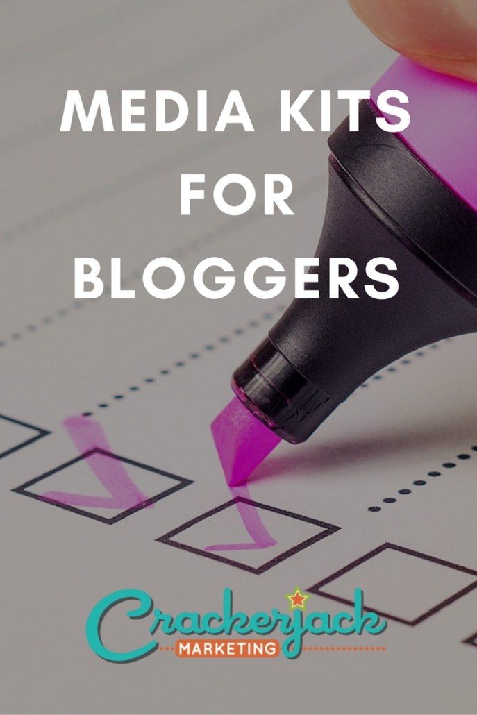 media kit for bloggers cjm