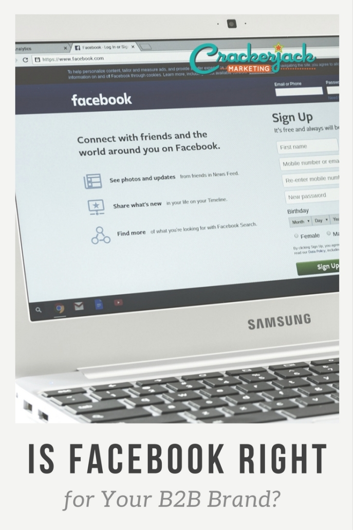 Is Facebook Right for Your B2B Brand_