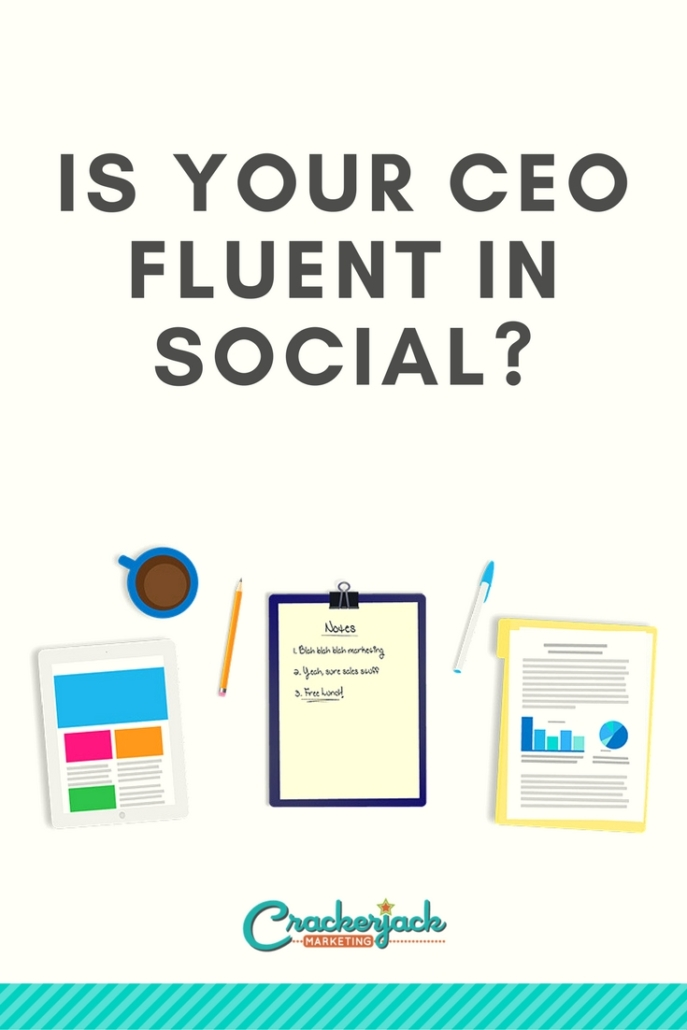 Is Your CEO Fluent in Social_