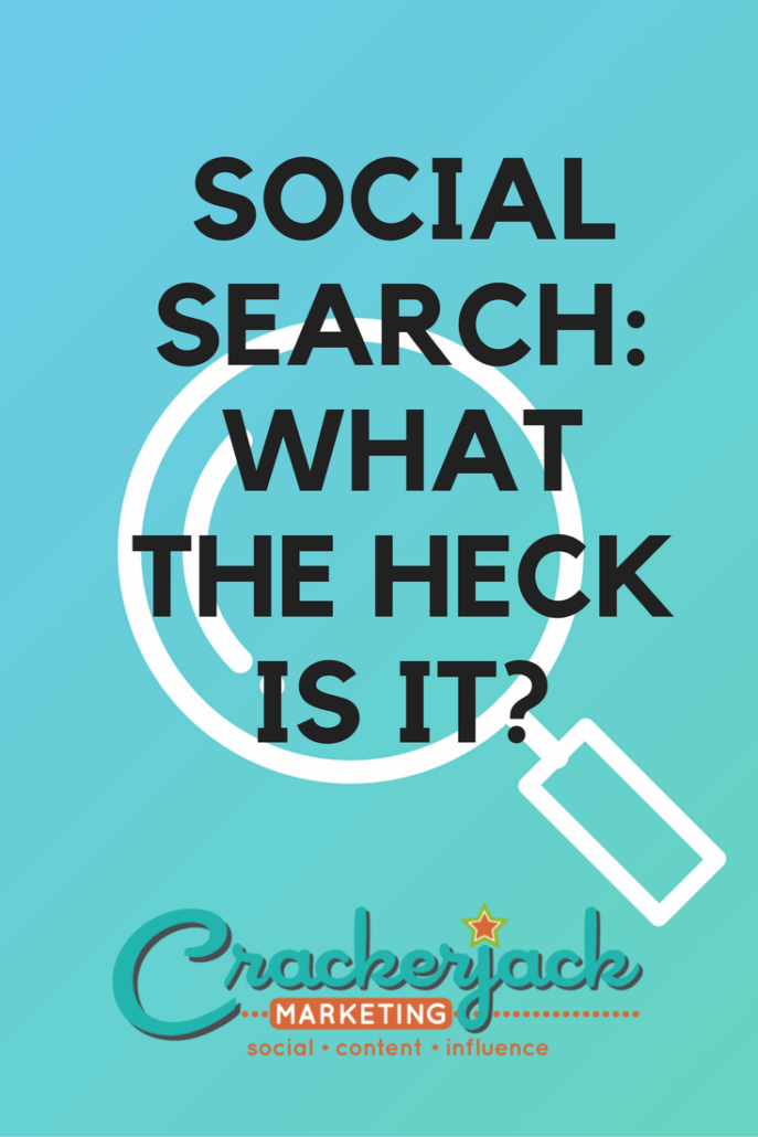 Social Search What the Heck Is It