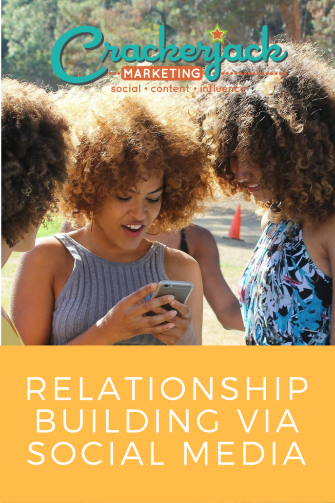 Relationship Building Via Social Media