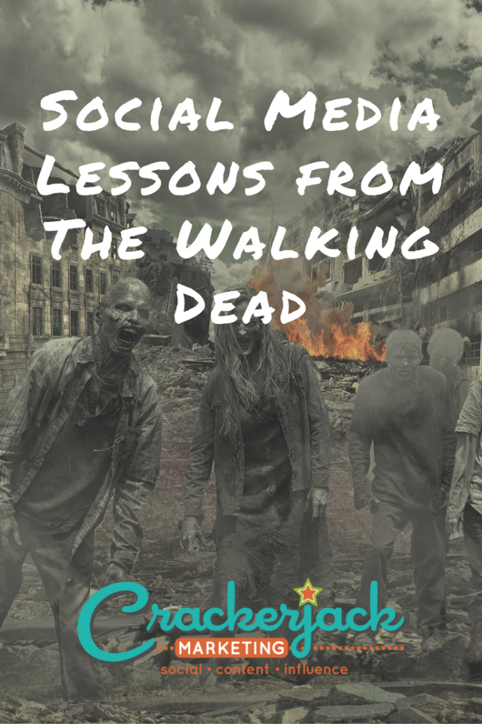 Social Media Lessons from The Walking Dead
