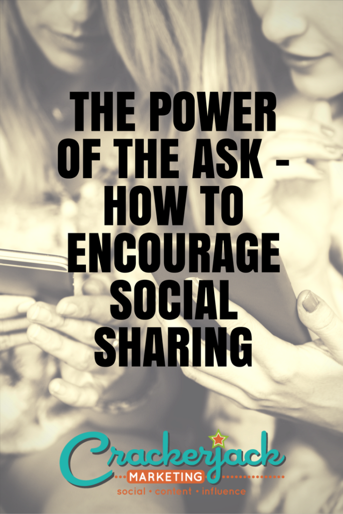 The Power of the Aask – How to Encourage Social Sharing