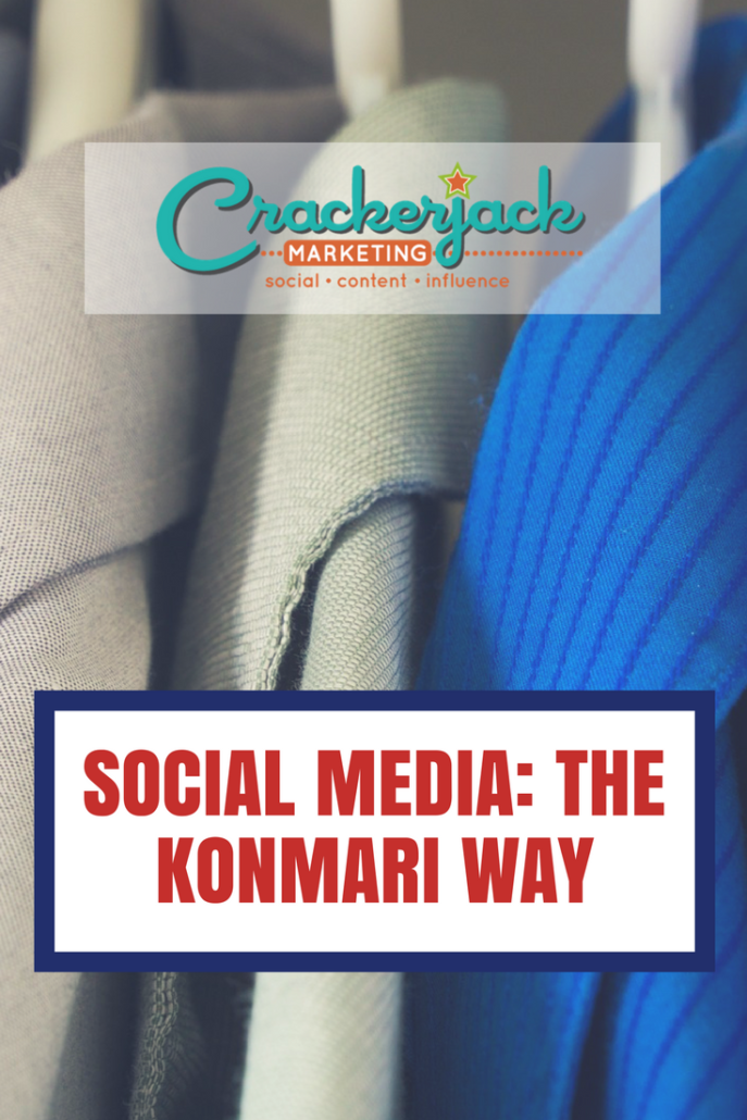 Social Media The KonMari Way