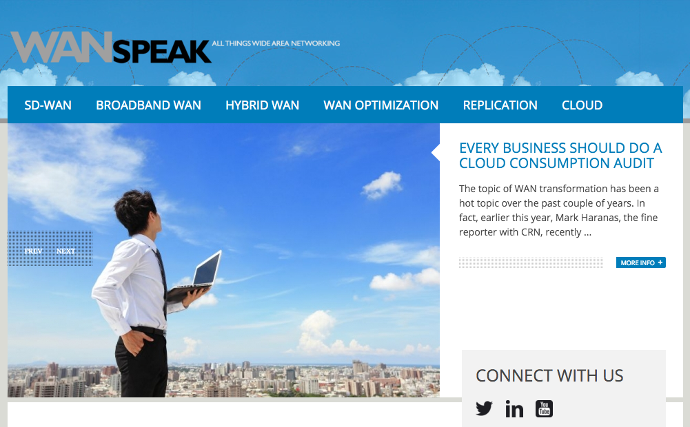 Silver Peak WAN Speak Blog