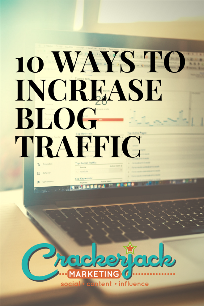 10 Ways to Increase Blog Traffic