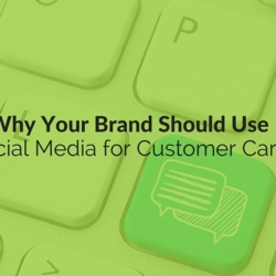 social media for customer care