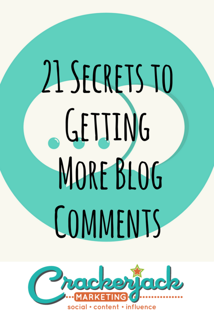 21 Secrets to Getting More Blog Comments