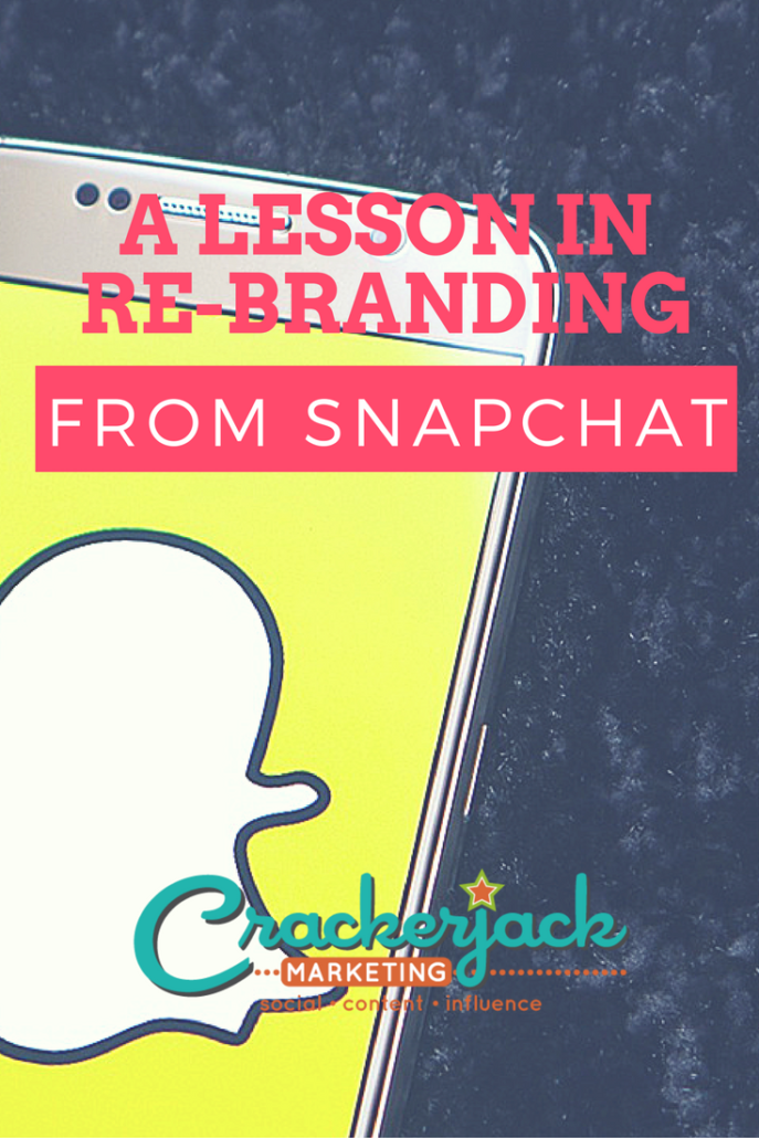 A Lesson in Re-Branding from Snapchat