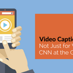 Video Captions: Not Just for Watching CNN at the Gym