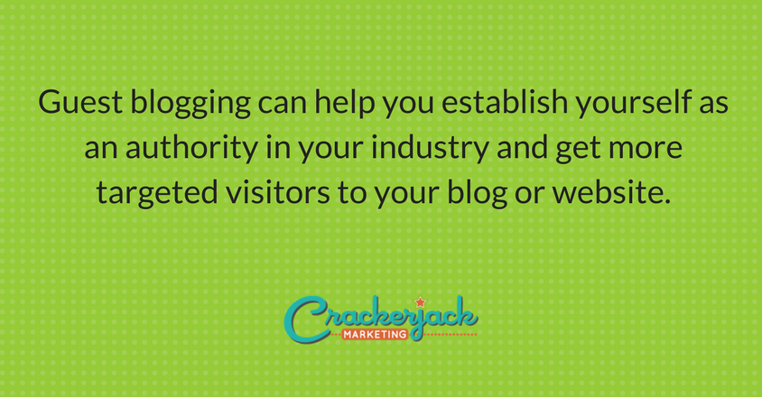 The Essential Guide to Guest Blogging | Crackerjcack Marketing Blog