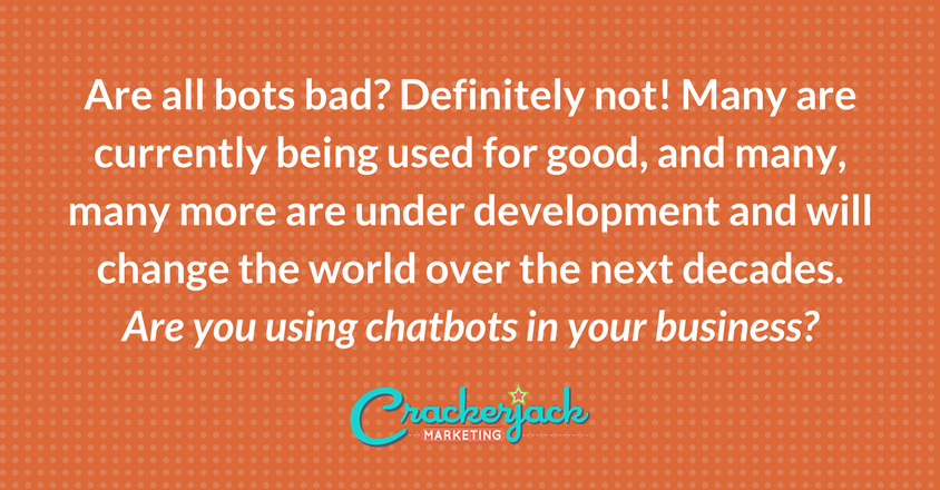 Are you using chatbots for business?